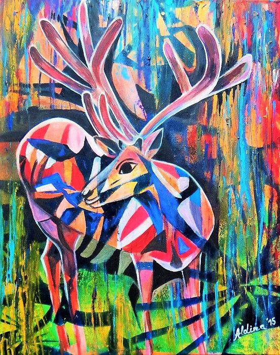 Aldina H. Beganovic Todorovic, Deer.JPG