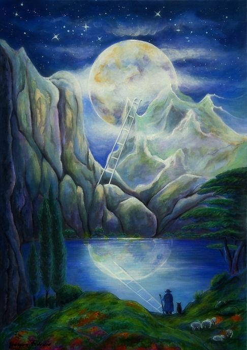 Grazyna Federico, Notte di luna piena.jp