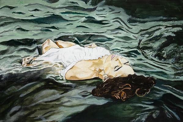 Francesco Vattuone, Donna in mare.jpg