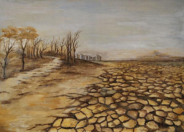 Graziella Castelli, Desertificazione.jpg