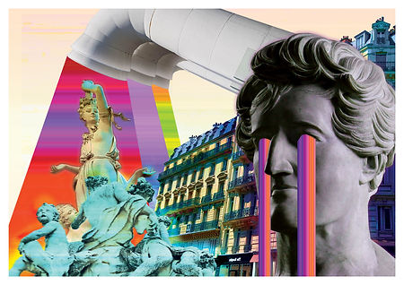 Ma vision de Paris - montage photo