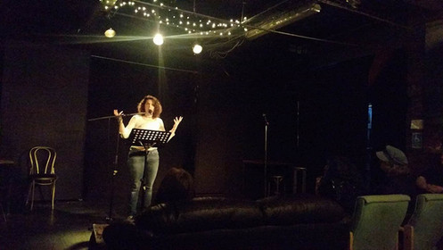The Sea at Stirred Poetry, 3MT - 26/6/17