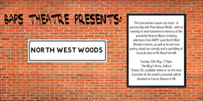 BAPS Theatre presents North West Woods: A tribute to Victoria Woo - King's Arms Salford