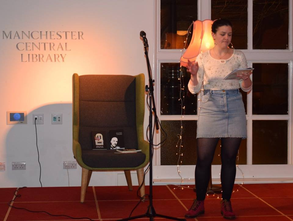 Word Central Jan 2017, Manchester Central Library - Picture by Paul Neads, Flapjack Press