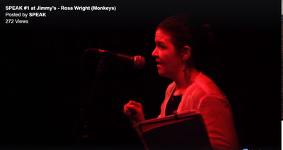 Speak! #1 at Jimmy's, Feb 2017 - video courtesy of Jimmy's/Zac Slater