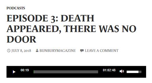 Bunbury Podcast - Episode 3