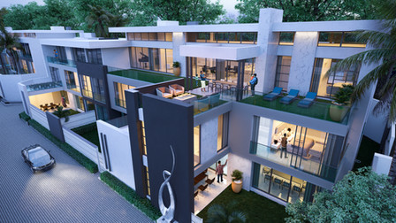 The Palms, Houghton, South Africa. Archi
