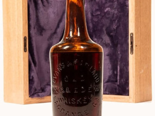 The Oldest Whiskey Bottle Will Be Auctioned Off in June
