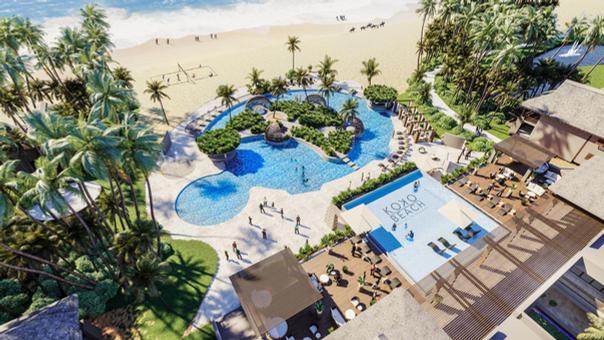 Snake Island Beach Resort, Lagos, Nigeri