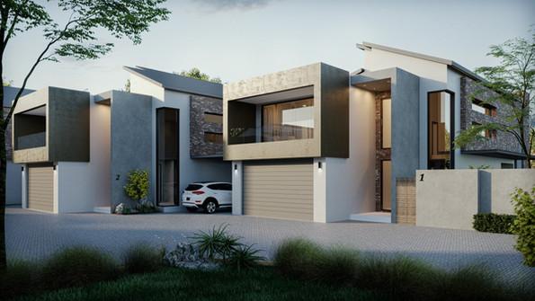 San Lopez, Residential Development, Rivonia, Sandton, South Africa. Architectural Design a