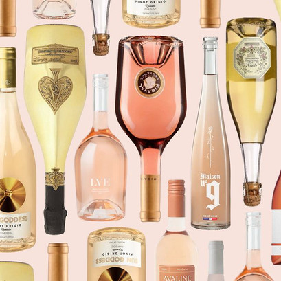 Celebrities Who Love Pink Rose Wine