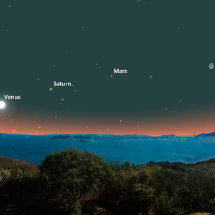 The Moon and Five Planets Will Be Visible Without a Telescope on July 19