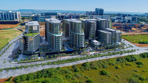 Mixed use development, KwaZulu-Natal. Ar