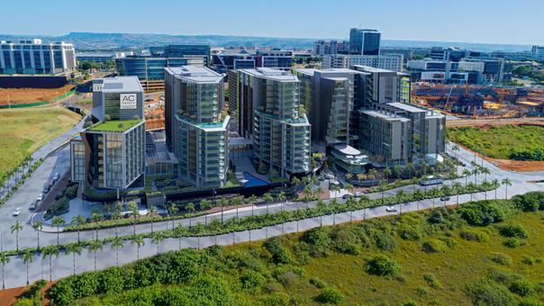 Mixed use development, KwaZulu-Natal. Ar