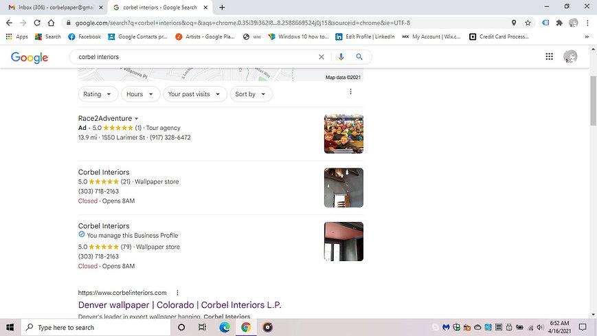 100 Five Star Google Reviews Screen Shot