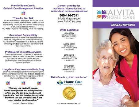 Alvita Care Skilled Nursing brochure .jp