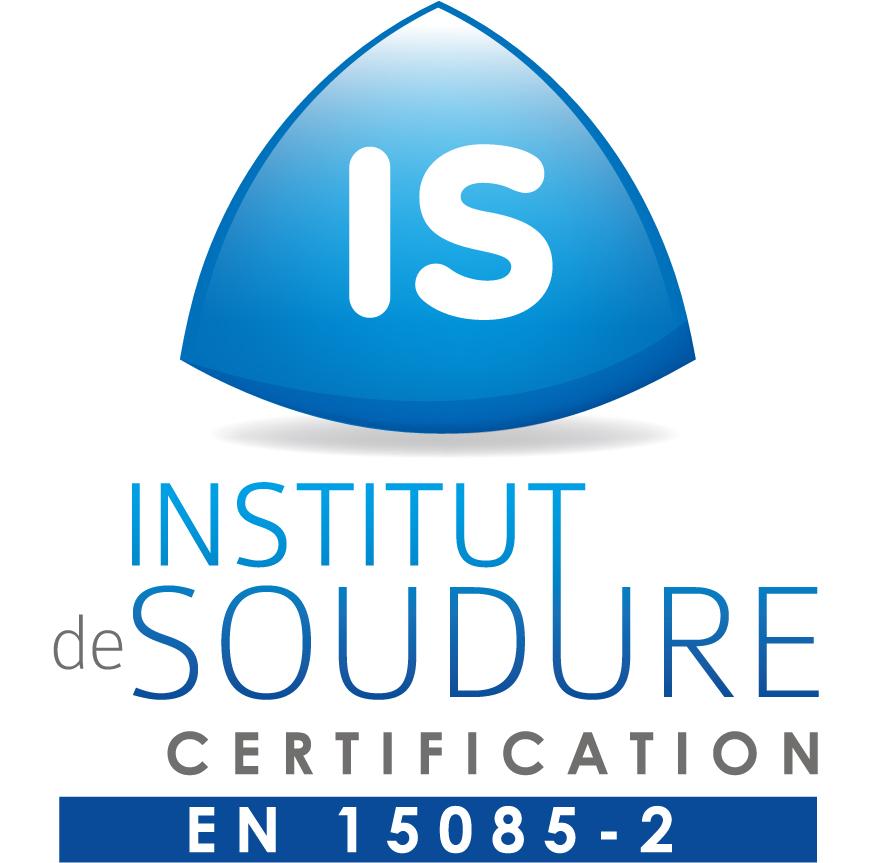 IS logo CERTIFICATION EN 15085-2_871x863