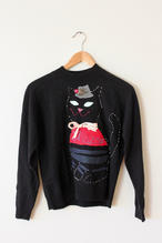 hand stitched sweater