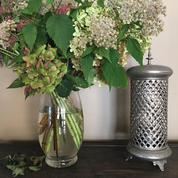 garden bouquet l lamp