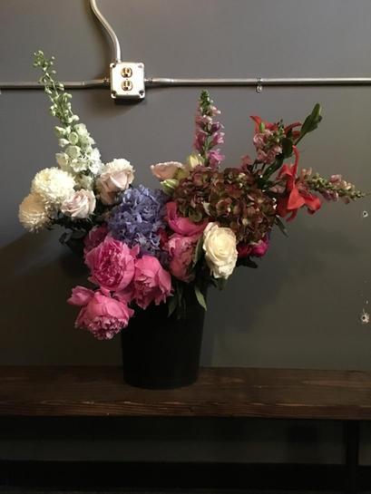 flowers pre-shoot