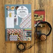 transistor wood headphones