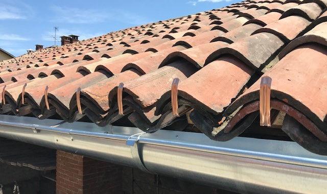 Ripasso tetto in coppi antichi