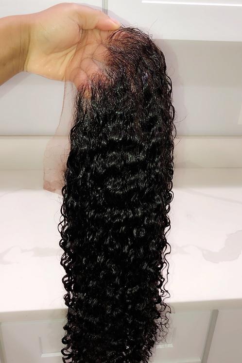 Halauni Beach Curl Full Lace Wig