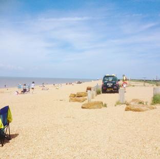 Snettisham Beach