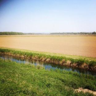 River at RSPB Snettisham