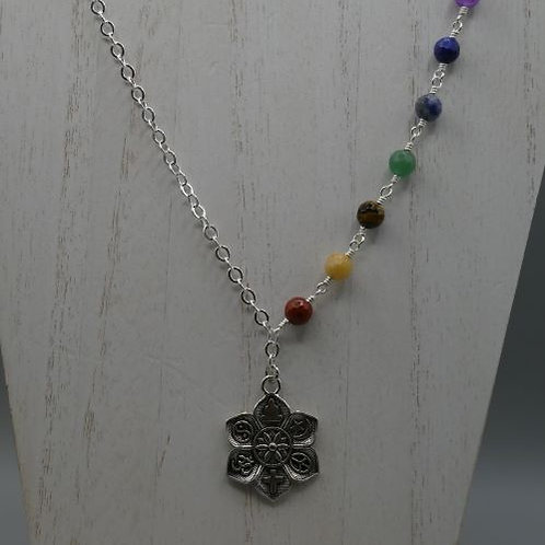 Chakra with multi symbol focal