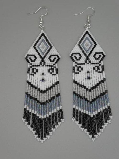 Tapestry Fringe Earrings