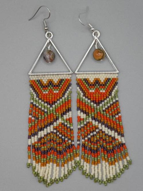 Desert Vibe fringe earrings
