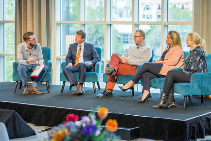 A panel event with QMS