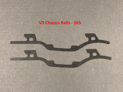 V3 Chassis rails - high clearnce design.