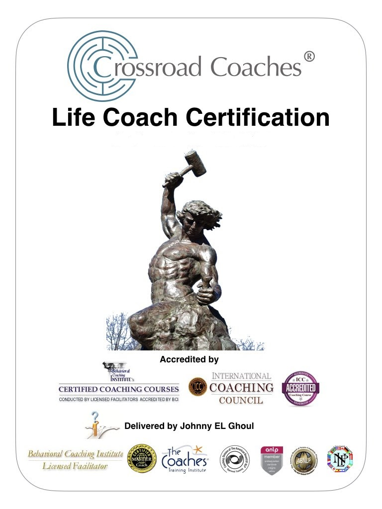 Accredited Life Coach Certification Home Johnny El Ghoul