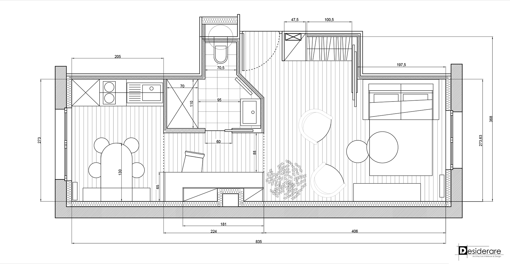 Rénovation appartement/plan