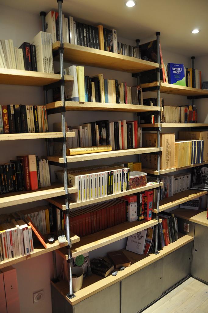 Appartement à Nantes / Bibliothèque