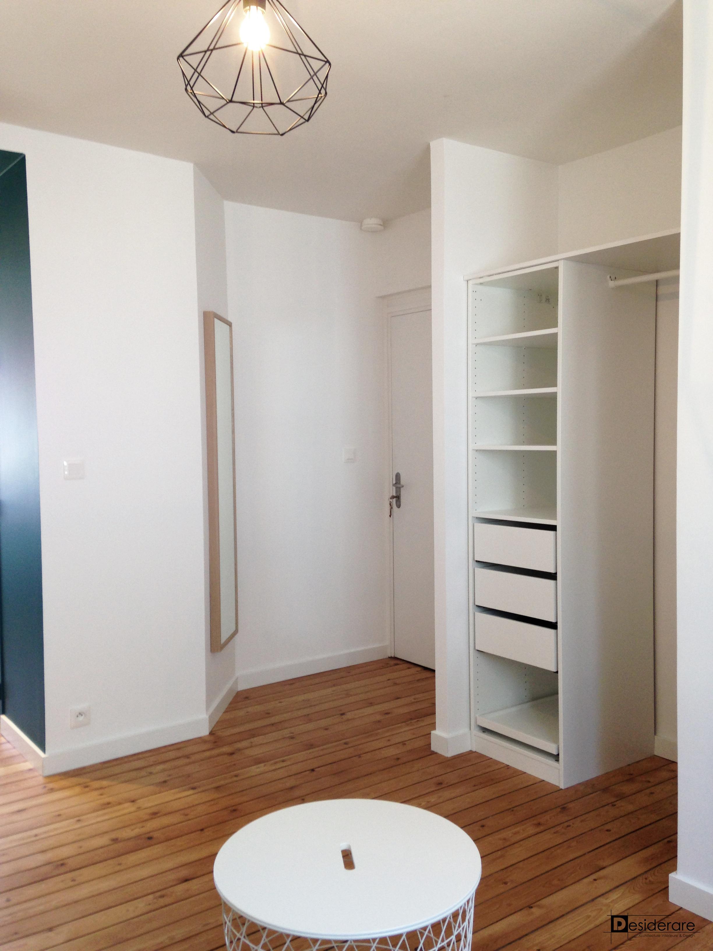 Rénovation appartement/Entrée