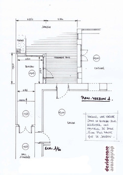 Petite extension / plan