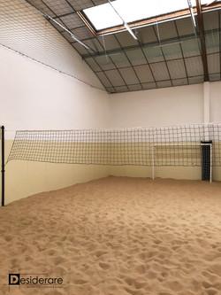 Terrain de beach sports