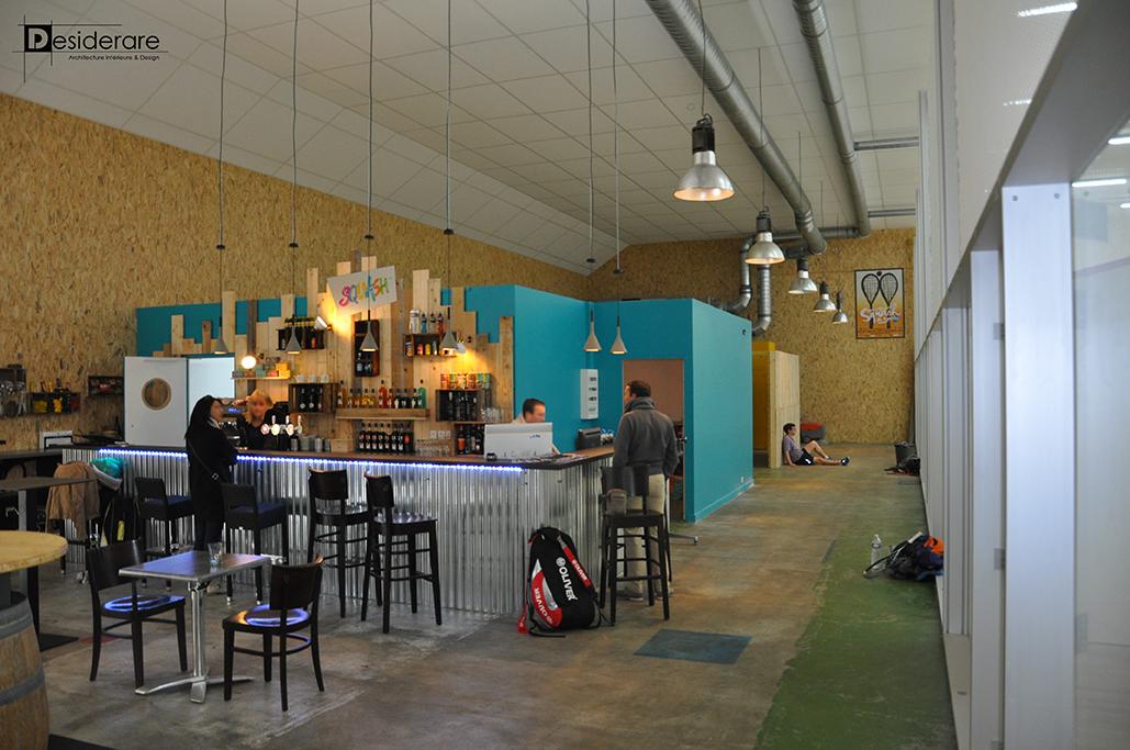 La maison du squash / bar