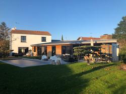 Extension sur piscine