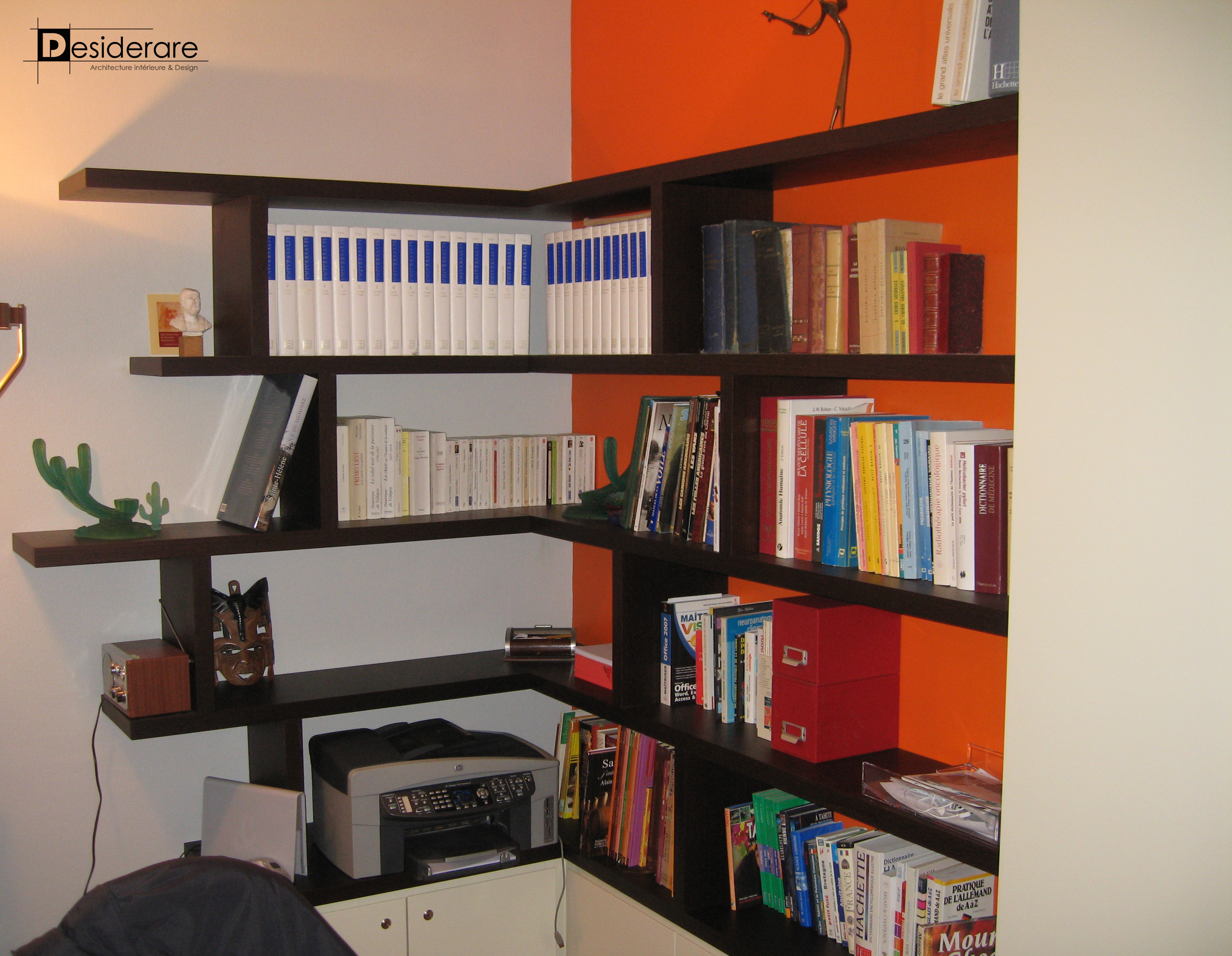 Rénovation à Nantes / bibliothèque