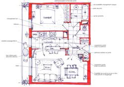 Appartement à Nantes / plan