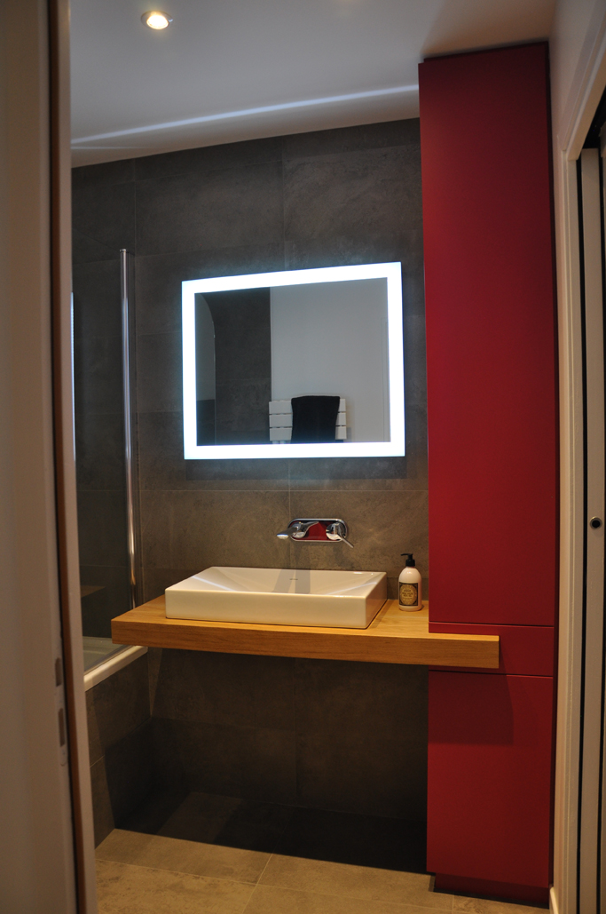 Appartement à Nantes / Salle d'eau