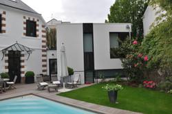 Extension à Nantes / jardin