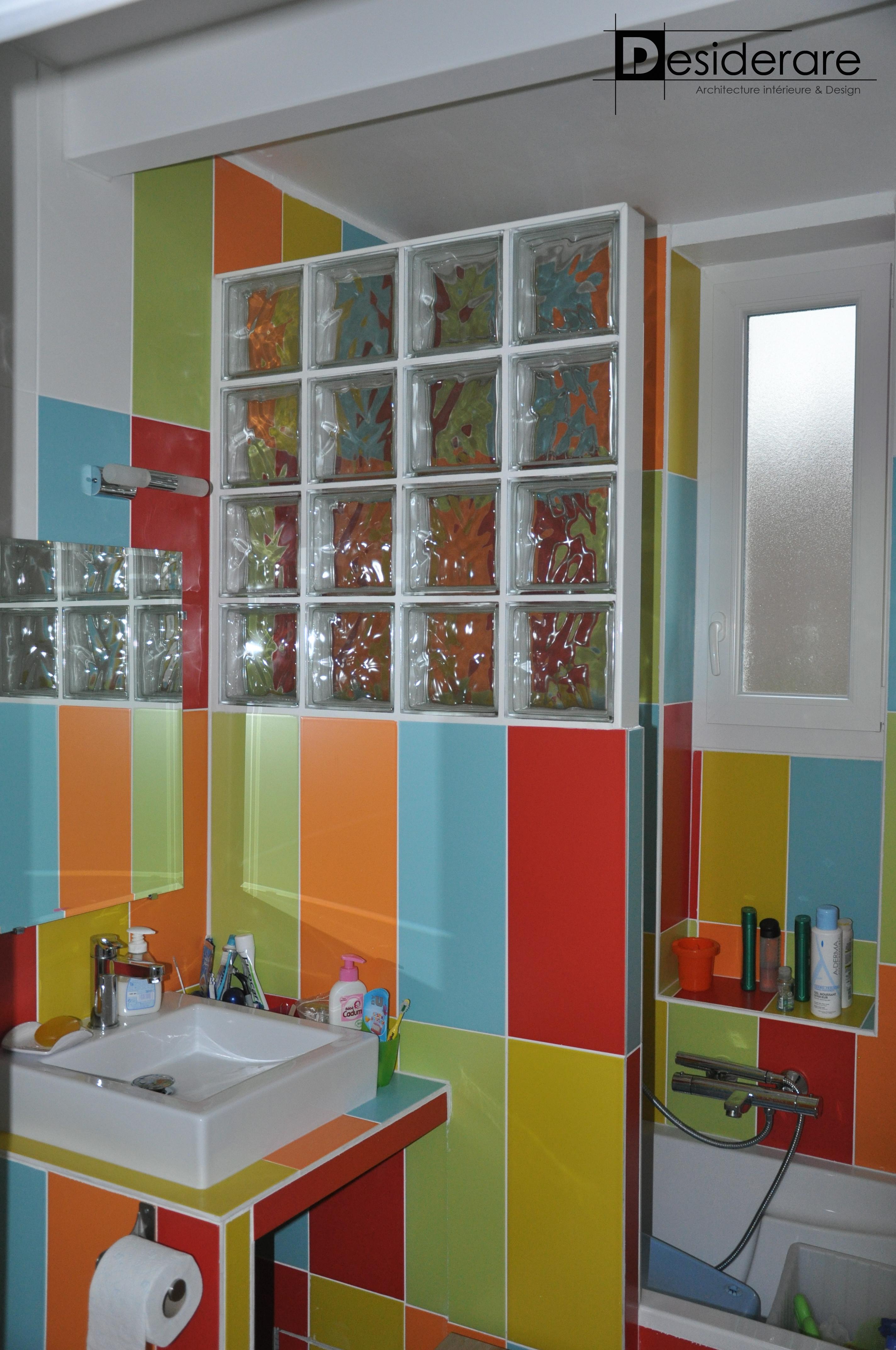 Duplex à Nantes / salle de bain