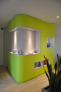 Appartement à Nantes /Meuble d'angle