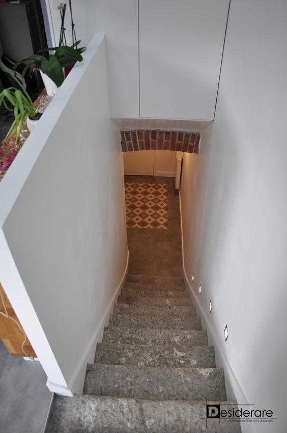 Extension / descente à la cave