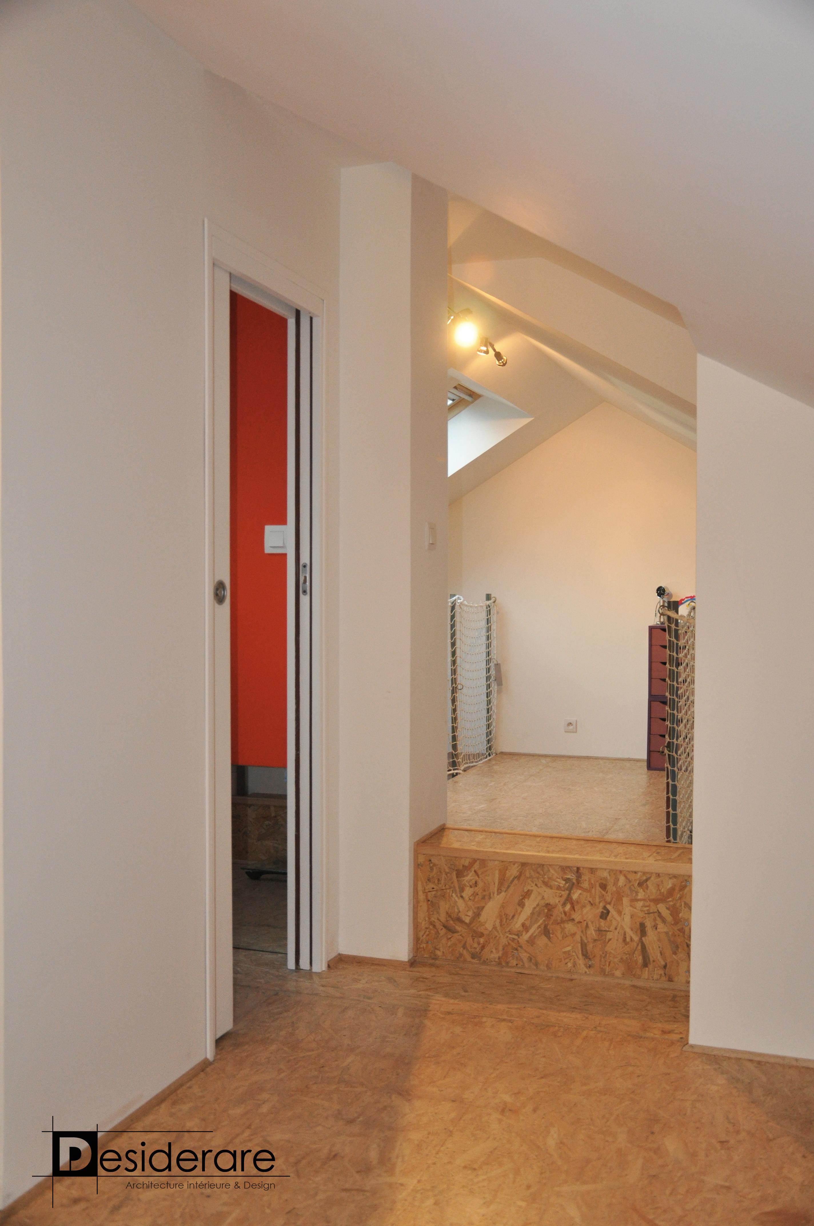 Duplex à Nantes / mezzanine